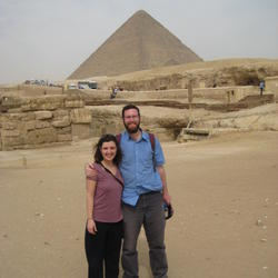 Matt and Carolyn and the Great Pyramid
