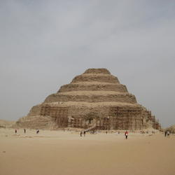 The Step Pyramid of Zoser at Saqqara