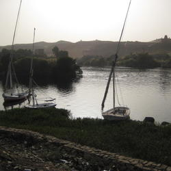 The Nile River from Elephantine Island